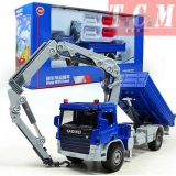 Crane-truck construction vehicles model 1-50 kdw