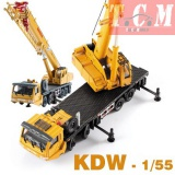 Mega Lifter Crane Construction Vehicle 1-55 KDW