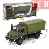 military transport truck model off-road 1-36 KDW