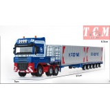 Transporter Container Truck Car1-50 KDW