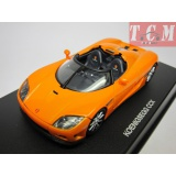 Koenigsegg Ccx 2006 Orange 1-43 Autoart