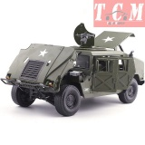 Military Hummer Humvee Battlefield Vehicle Army green KDW 1-18