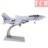 F-14 Tomcat Fighter Diecast Airplane Aircraft model 1-72