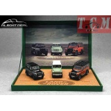 Land Rover Defender 90 110 2015 Celebrations Car Model Set 1-43 Almost Real