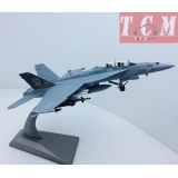 F-A-18 Hornet Strike Fighter Military Diecast Metal Plane Model 1-100