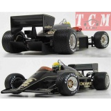 LOTUS - F1 97T RENAULT TURBO ELF N 12 WINNER PORTUGAL GP 1985 AYRTON SENNA - WITH RAIN TYRES -1-18 MINICHAMPS