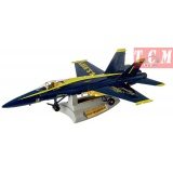 F-A-18 Hornet Blue Angels Die Cast Vehicle Jet Aircraft 1-48 Motor Max