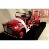 GMC Fire Truck 1941 Red 1-24 Scale Diecast Replica byYat Ming