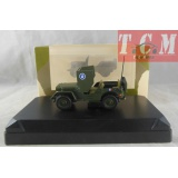 Jeep Willys Armoured Car Generel Leclerc 1-43 Scale Victoria