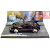 EAGLEMOSS BATMOBILE BATMAN 1-43 MOVIE DIECAST MODEL CAR BY DC COMICS