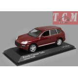 Porsche Cayenne Turbo 2007 Red Metallic MINICHAMPS