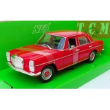 Mercedes Benz 220 1973 Red - 1-24 by Welly