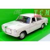 Mercedes Benz 220 1973 White - 1-24 by Welly
