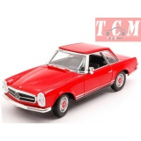 Mercedes Benz 230 SL Red 1-24 Welly