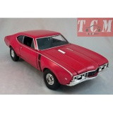 Oldsmobile 442 1968 Red 1 24 by Welly