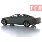 Jaguar XJ Hard Top with Sunroof. Grey 1-24 scale diecast BY Welly