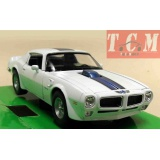 Pontiac Firebird Trans Am 1972 White 1 24 Scale by Welly