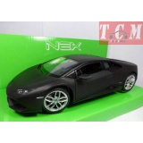 Lamborghini Huracan LP610-4 Matte Black 1-24 by Welly