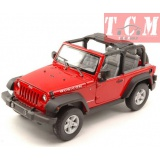 Jeep Wrangler Rubicon 2007 Red 1-24 Scale Welly NEX Models