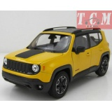 JeepJeep Renegade Trailhawk Yellow1 24 by Welly