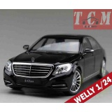 Mercedes S-Klasse (W222), 2013,Black 1-24 by Welly