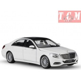 Mercedes S-Klasse (W222), 2013,White 1-24 by Welly