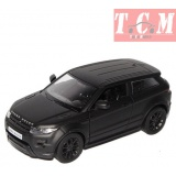 Range Rover Evoque Matt Black 1-24 by Welly