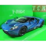 Ford GT 2017 Blue, scale 1-24 Welly ,