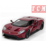 Ford GT 2017 Red, scale 1-24 Welly ,