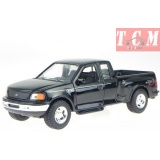 Ford F-150 Flareside Supercab Pick Up 1999 in black 1-24 scale model from Welly