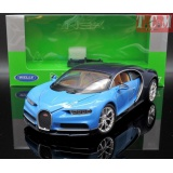Bugatti Chiron 2016 Blue 1-24 Scale by Welly