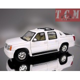 CADILAC ESCALADE EXT PIC UP WHITE 1-24 WELLY