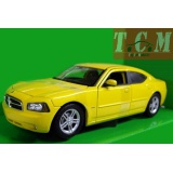 Dodge Charger Daytona R-T - Yellow 1-24 Scale Welly
