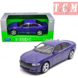 Dodge Charger R-T 2016 Purple 1-24 Scale by Welly