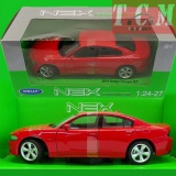 Dodge Charger R-T 2016 Red 1-24 Scale by Welly
