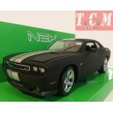 Dodge Challenger SRT Matt Black Color 1-24 Scale by WELLY