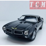 PONTIAC - FIREBIRD TRANS-AM 455 H.O. COUPE 1972 BLACK 1-24 SCALE BY WELLY