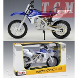 YAMAHA YZ450F BLUE & WHITE IN 1-12 BY MAISTO 31101