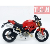 DUCATI MONSTER 696 RED IN 1-12 SCALE BY MAisto
