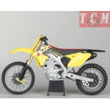 SUZUKI RM-Z450 YELLOW IN 1-12 BY NEW RAY
