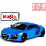 Audi R8 - Blue in1-24 Scale Maisto Exotics