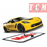 Chevrolet Corvette Z06 2015 Yellow 1n 1-24 Scale by Maisto 31133