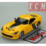 Dodge Viper GTS SRT 2013 Yellow 1-24 Diecast Model Car by Maisto