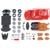 FERRARI F430 RED IN 1-24 ASSEMBLY LINE BY MAISTO