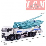 Concrete Pump Trucks Mega Crane 1-55 by KDW Diecast Model