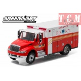International Durastar FDNY Ambulance 2013 in 1-64 Scale by Greenlight