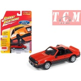 Ford Mustang 5.0 GT 1982 - Medium Red 1-64 Johnny Lightning