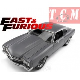 CHEVY CHEVELLE 454SS 1970 - FAST & FURIOUS IV (2009) GREY IN 1-24 BY JADA