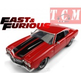 CHEVY CHEVELLE 454SS 1970 - FAST & FURIOUS IV (2009) RED IN 1-24 BY JADA