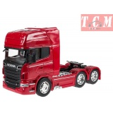 Scania R730 V8 Red in 1-32 Scale Die Cast Models by Welly